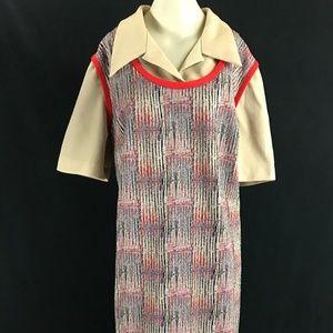 60s/70s Plus Size Lane Bryant Dress